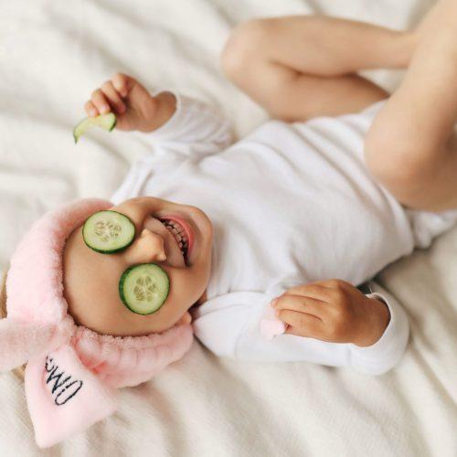 enjoying baby
